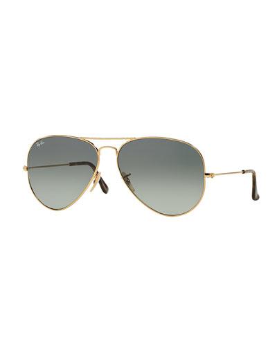 b86dff9dcc97 Gray Aviator Sunglasses