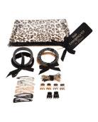 Hair Emergency Kit, Black Leopard