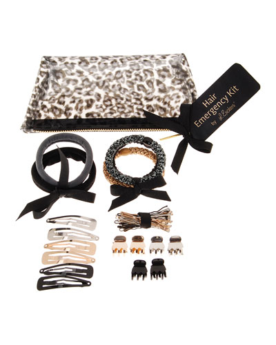 Hair Emergency Kit, Black Leopard