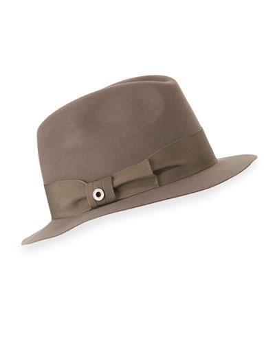 Mia Felt Fedora Hat, Myrtle
