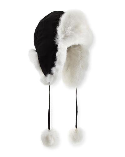 Rabbit Fur Trapper Hat