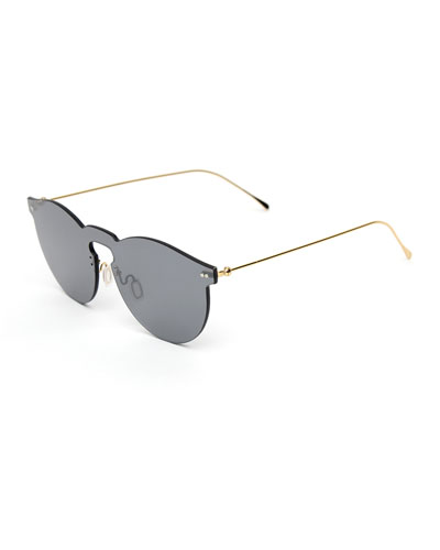5a5a4b6bfa7 Quick Look. Illesteva · Rimless Mirrored Sunglasses