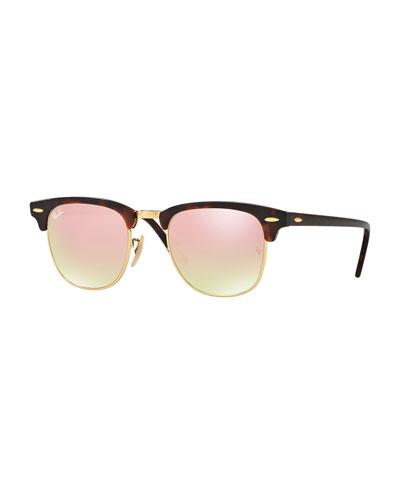 Clubmaster® Flash Sunglasses, Havana