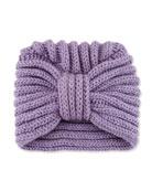 Classic Cashmere Head Turban, Lavender