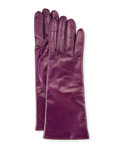 Nappa Leather Gloves, Iris