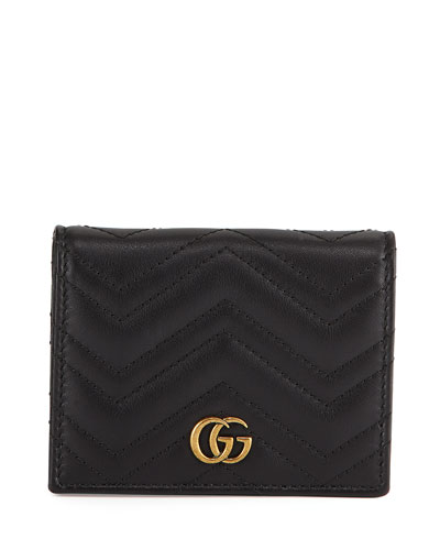 GG Marmont Flap Card Case
