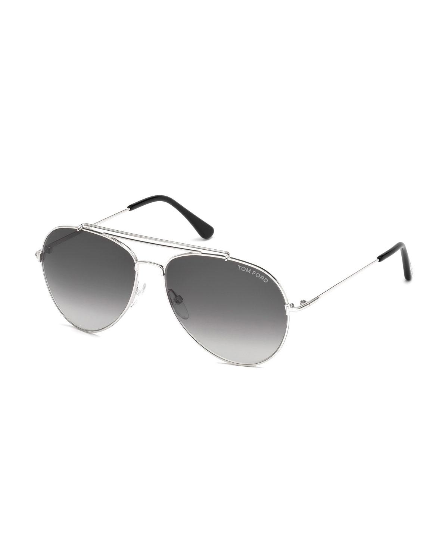 Metal Aviator Sunglasses