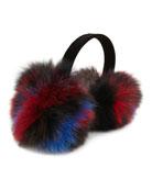 Velvet & Fox Fur Earmuffs