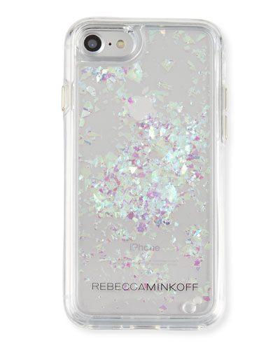 Rebecca Minkoff Waterfall Glitter Phone Case, Multi