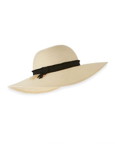 Honey Toyo Sun Hat, Ivory