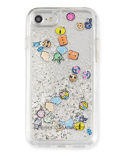 Rebecca Minkoff Waterfall Emoji Phone Case, Multi