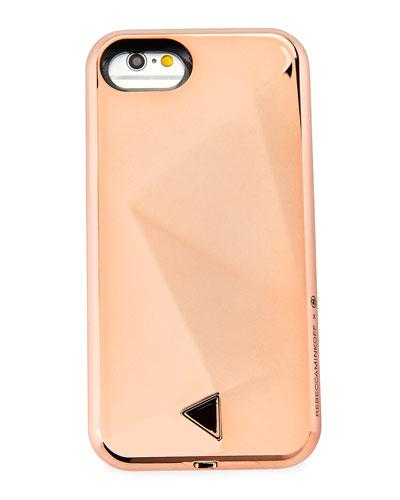 Glow Selfie iPhone 7 Case, Pink Pattern