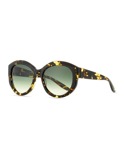 Patchett Tortoiseshell Sunglasses, Julep, Multi Pattern