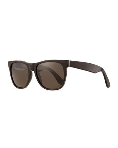 Basic Rectangle Sunglasses, Black