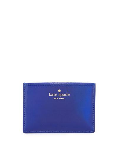 rainer lane card holder, nightlife blue
