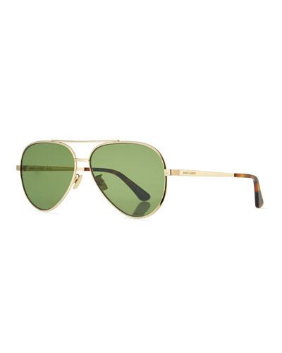 Classic 11 Metal Aviator Sunglasses