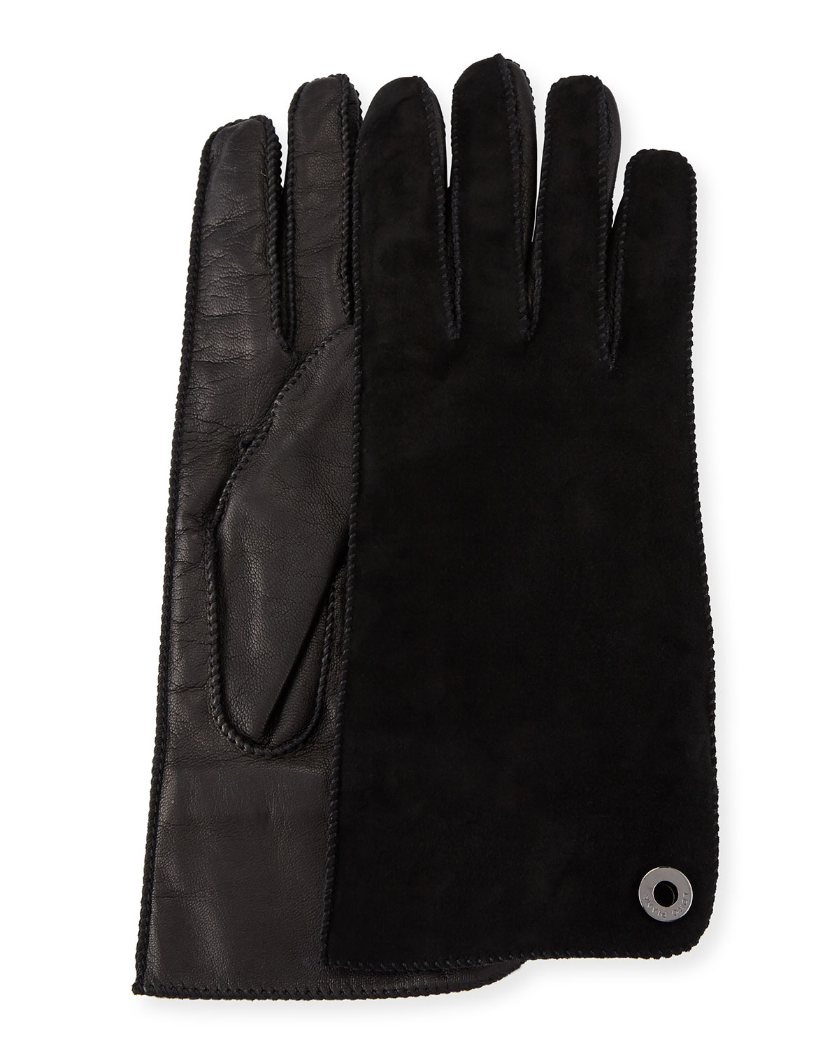 Jacqueline Suede and Leather Gloves