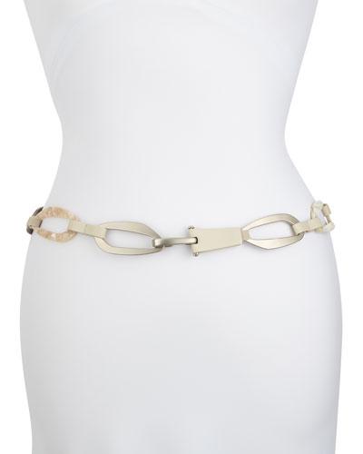 Geometric Chain-Link Hip Belt