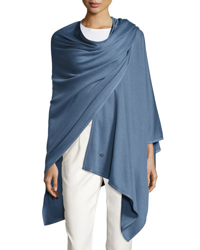 Madison Cashmere-Blend Wrap