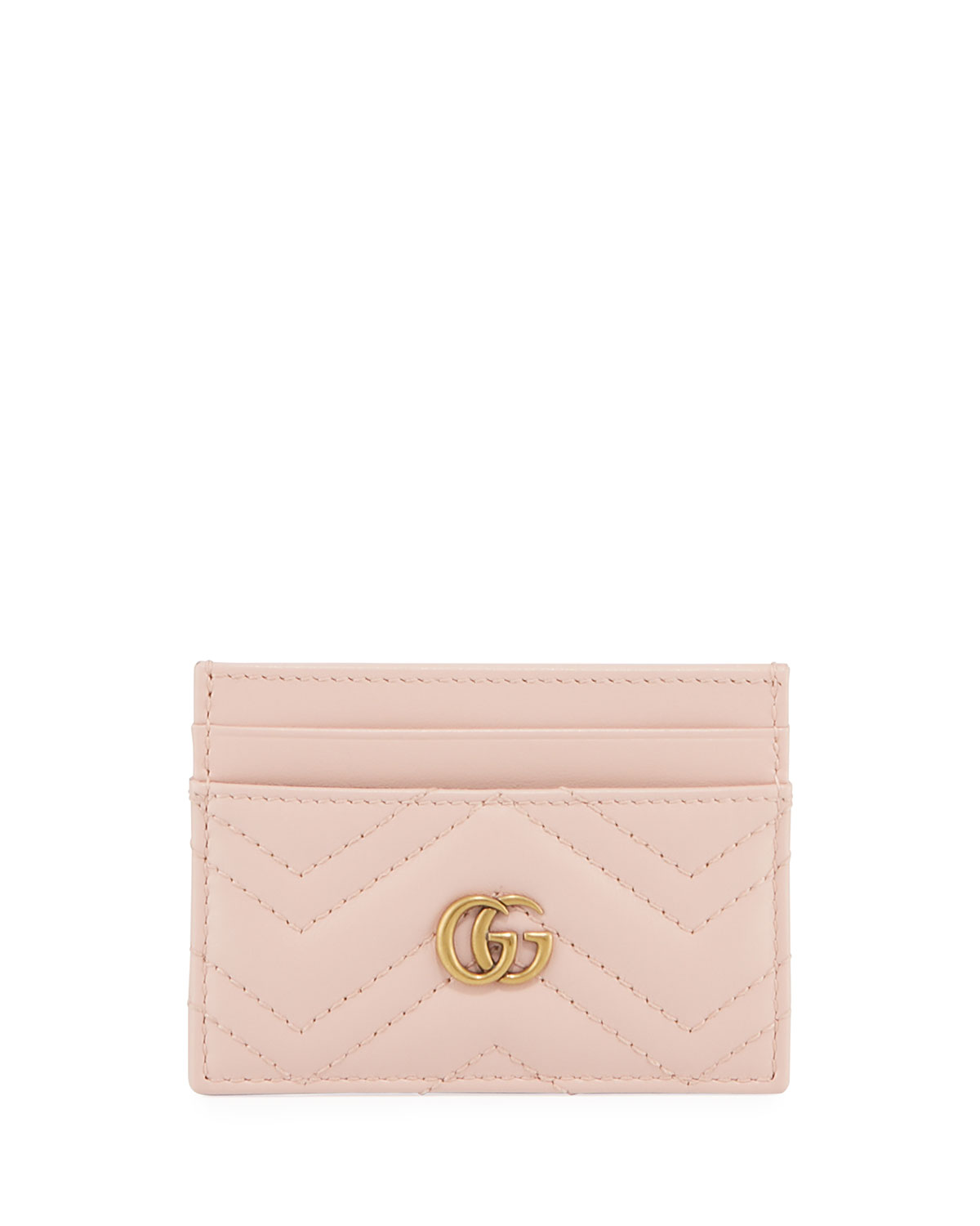 Gucci Bags GG MARMONT MATELASSE CARD CASE
