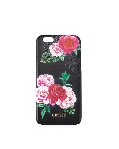 Victorian Garden iPhone Case, Pink Roses