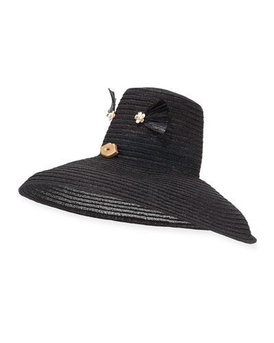 Cheeky Hemp Sun Hat, Black