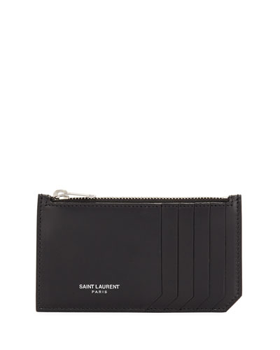 Small Zip-Top Card Case
