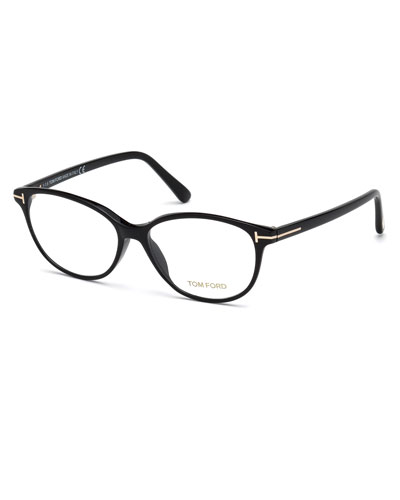 Cat-Eye Optical Frames, Black
