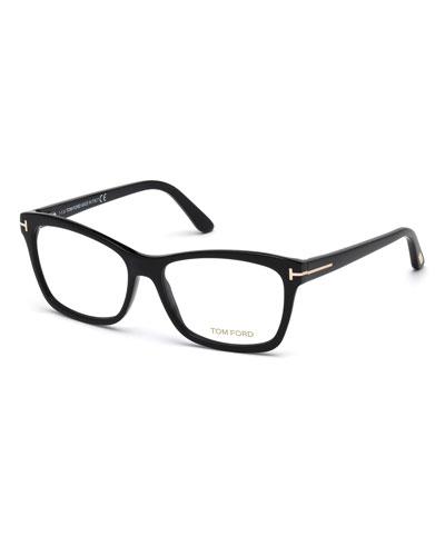 Black Plastic Frames Eyewear   Neiman Marcus