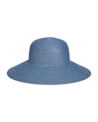 Hampton Squishee Packable Sun Hat, Beige