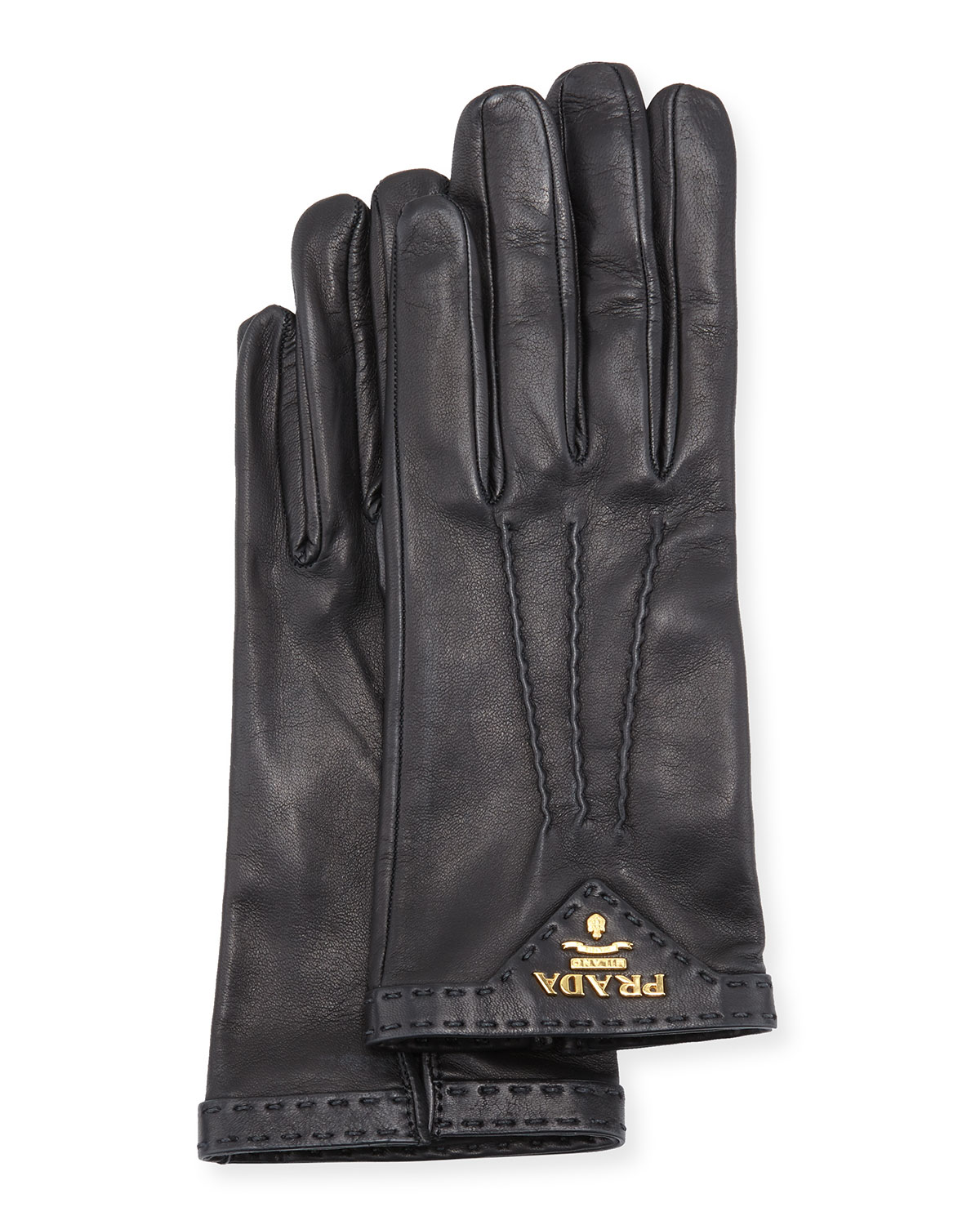 Napa Leather Gloves, Camel