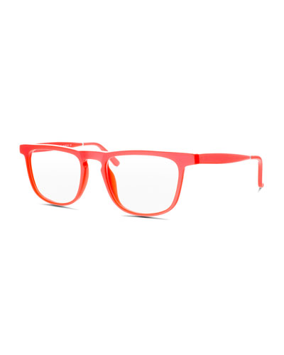 Skyliner Square Optical Frames, Peach
