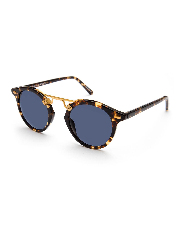 St. Louis Round Polarized Sunglasses