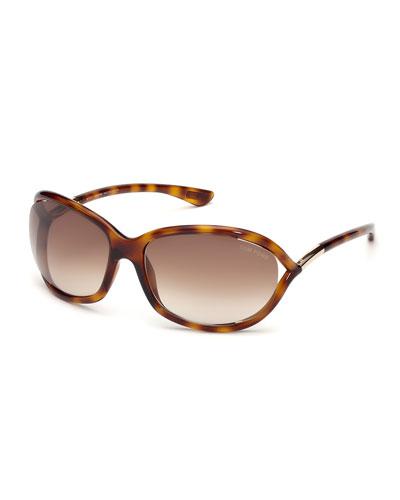 Whitney Crisscross Round Sunglasses