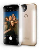 LuMee iPhone� 7 Photo-Lighting Duo Case, Matte Gold