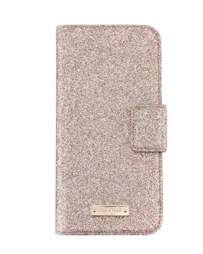 glitter wrap folio iPhone 7 case, multi