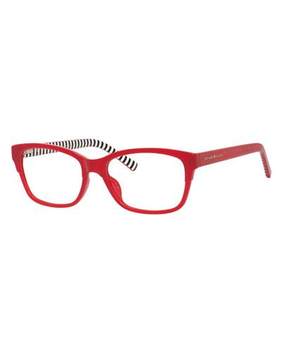 tenille rectangular reading glasses