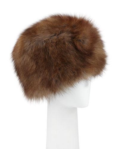 Fox Fur Cap