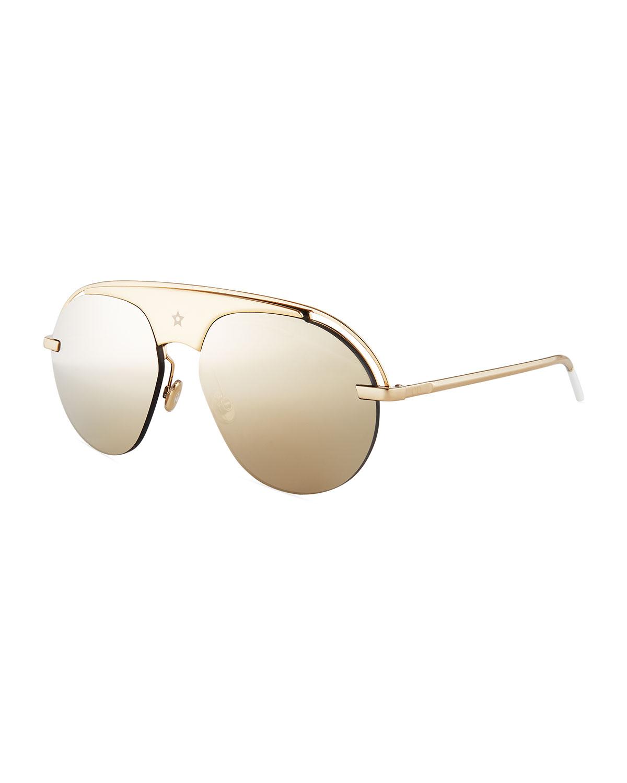 e8db35f27d854 Dio(R)evolution Mirrored Aviator Sunglasses