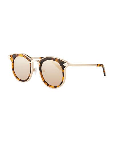 ad37e56b1d2 Quick Look. Karen Walker · Bounty Round Mirrored Sunglasses