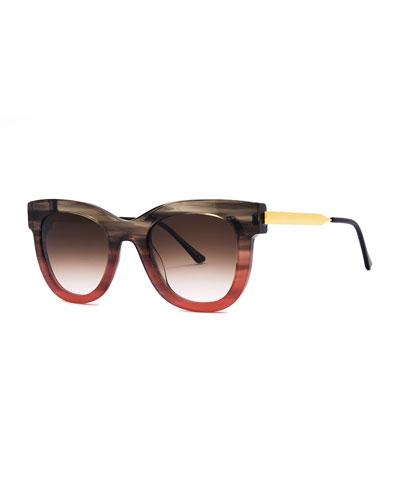 4ec4c169b19 Brown Metal Frames Sunglasses
