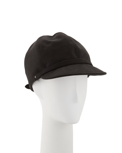 Mika Microsuede Newsboy Cap