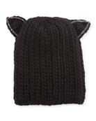 Felix Wool Headband w/ Cat Ears