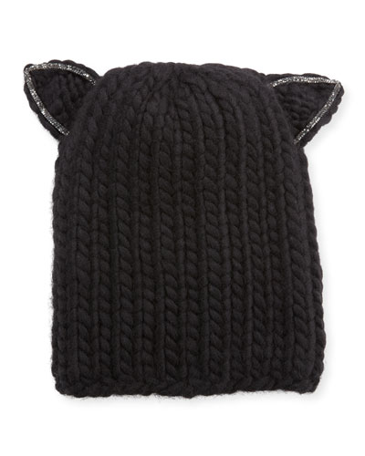 Felix Wool Headband w/ Cat Ears