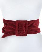 Lisea Velvet Corset Belt
