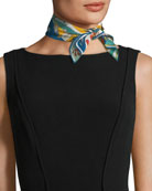 Madremonte Mini Silk Scarf