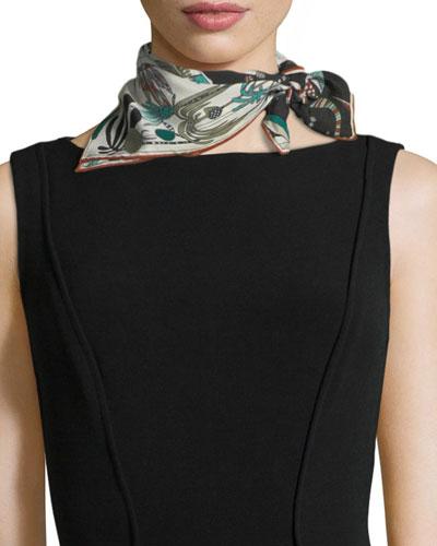 Madremonte Mini Silk Scarf