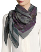 Cashmere Scialle 4 Scialle Floral Pattern Scarf