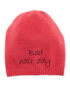 Bad Hair Day Cashmere Beanie Hat
