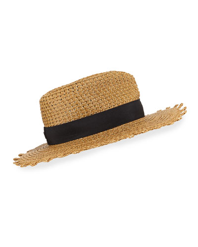 Squishee Cannes Boater Hat